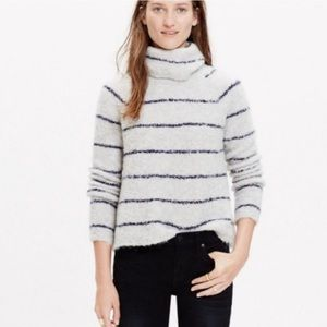 Madewell Striped Boucle Sweater